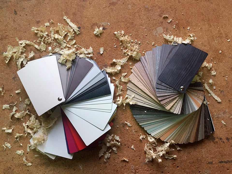 Materiales de carpintería de calidad