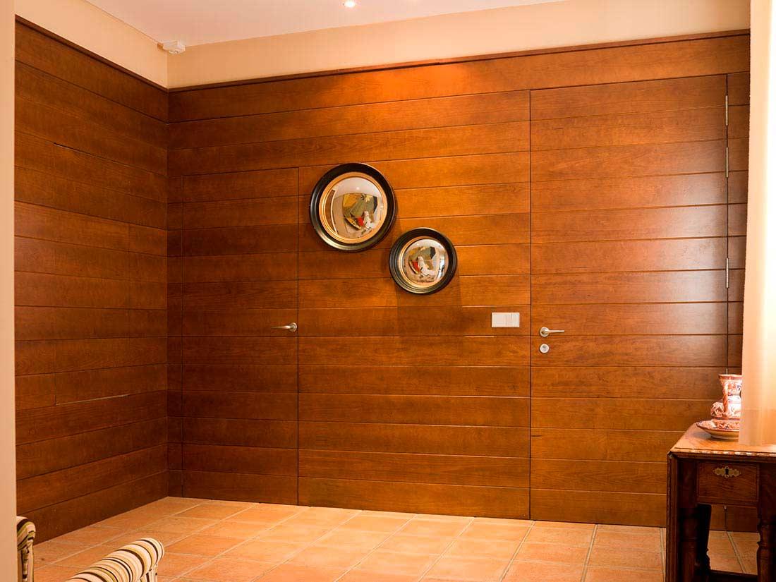 Panelado de madera a medida