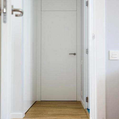 Puertas de interior a nivel del marco