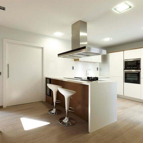cocina lacada en blanco 3 p5