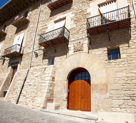 Restauración de carpintería en casa medieval en Morella