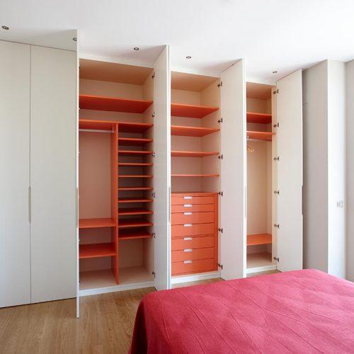 Funcionalidad de los armarios a medida para vestidor