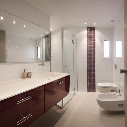 mueble de bano lacado rojo general p12