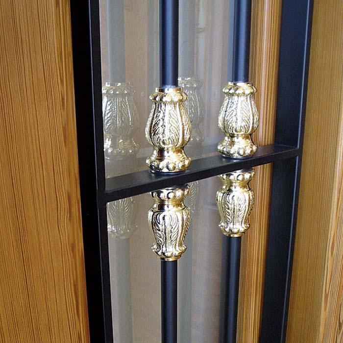 Detalle barrotes exterior puerta PINETA