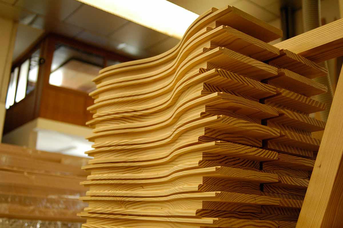 Seriación de piezas para puertas de madera
